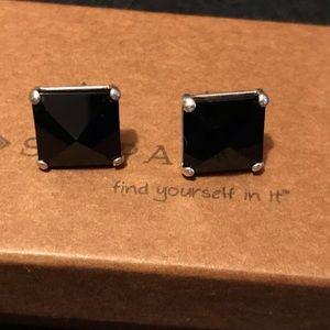 Silpada Pyramid Earrings